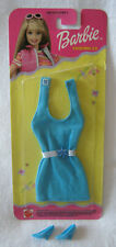 New 2000 Barbie Fashion Collectible ~ Turquoise Jersey Outfit w/Shoes