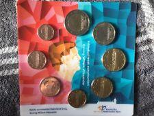 Nederland Euromunten 2014 1 cent t/m 2 euro