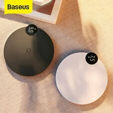 Baseus 10W Qi Wireless Charger LED Digital Charging Pad Dock for iPhone Samsung