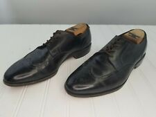 Allen Edmonds Kingswood Wing Tip  Black Leather Dress Shoes 9 D