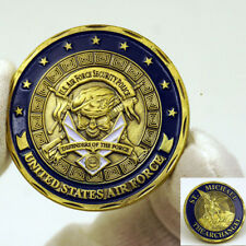 US Militaria Air Force Security Police St Michael The Archangel Challenge Coin