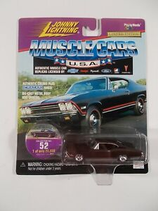 Johnny Lightning 1/64 Muscle Cars USA 1969 Chevy Chevelle