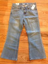 OSH KOSH girls boot cut leg BLUE jeans - sz 8P - NWT