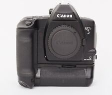 Canon EOS 3 W/ BP-E2 Power Drive Booster Grip 35mm SLR Film eos3 1v HS VHS 1N 1