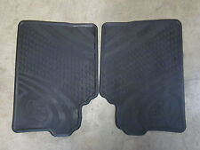 COROLLA HATCH REAR RUBBER FLOOR MATS ZRE182 8/12 ON ** TOYOTA GENUINE PARTS **
