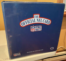 Vintage National Football League Pro Set Binder Only