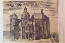 GERMANY/ ALEMANIA,  L'Eglise de notre dame d'Aix la Chapelle. Harrewyn, 1711.