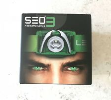 Ledlenser SEO 3 Stirnlampe Kopflampe grün weiß 6003