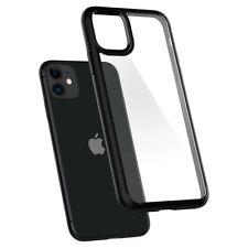 Spigen Coque pour iPhone 11 Ultra Hybrid noir mat