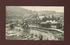 Railway Wales Denbighshire LLANGOLLEN Station Photograph 1952 128x75mm
