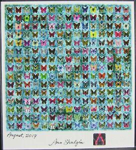 Blotter art Butterflies Ann Shulgin signed pihkal tihkal Rafti