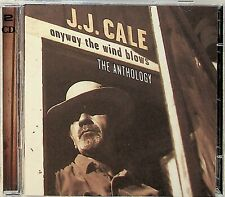 J.J. CALE- Anyway The Wind Blows Anthology 2-CD (Best of/Greatest Hits) 1997