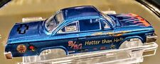 Aurora Auto World Chevy 62 Chevy Impala blue hotter than hell New body only