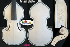 Unfinished SONG Maestro baroque style violin 4/4,carved rib neck #10585