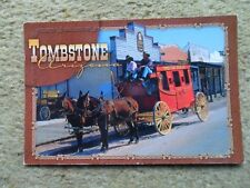 POSTCARD.TOMBSTONE,ARIZONA.PHOTO BY RICHARD STRANGE. POSTED 5.2.2003.NICE STAMP.