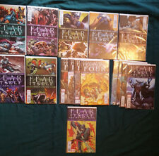 Marvel Fear Itself #1-7 complete run + Tie ins Fearsome Four, The Deep (2011)