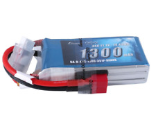 Gens Ace 1300mAh 11.1V 45C 3S Lipo Battery Pack Deans For Vortex 400mm X-Sled