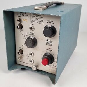 VTG Tektronix Guernsey Type B Wide-Band Calibrated Preamp Plug-In Type Unit 60's