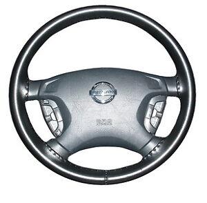 BLACK 2008 Toyota Prius Leather Steering Wheel Cover Wheelskins 13 3/4 X 3 3/4
