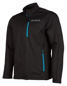 Klim Black Vivid Blue Inferno Jacket  size Large