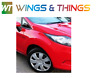 FORD FIESTA 2008 - 2017 MK7 DRIVER O/S WING fully painted in Colorado Red