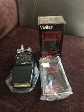 Vivitar 550FD C/R Shoe Mount Camera Electronic Flash For Canon FD und Ricoh XR