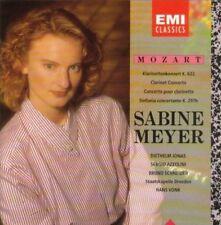 Mozart CONCERTO clarinetti, KV 622/Sinfonia concertante, KV 297b (EMI, [CD ALBUM]