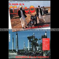 LE MONDE DE LA MOTO N°91 YAMAHA XT DTLC 125 XS 850 GUZZI 1000 CALIFORNIA 1982