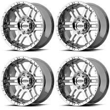 """Set 4 17"""" Moto Metal MO951 Chrome Wheels 17x9 6x5.5 -12mm Chevy Tahoe GMC 6 Lug"""
