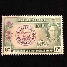 1949 Bermuda Postage Stamp, Unused