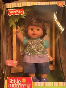 Fisher Price Little Mommy Sweet As Me Doll - New (box Is Damaged)