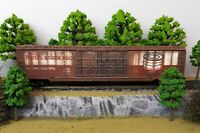 HO Scale Custom Painted Weathered Train Freight Hunts Chocolate Pudding Box Car