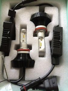Dual LED Headlight Headlamp Conversion Kawasaki ZZR1400 ZX14 H11 H9