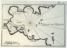 Antique map, Golfe de St. Drely