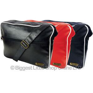 Hi-TEC ORIGINALS HOLDALL Messenger Shoulder Bag School Cabin Size Travel Retro