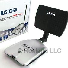 Alfa 1000mW Wi-Fi AWUS036H 5 dBi OMNI & 7 dBi DIRECTIONAL antenna LONG RANGE KIT