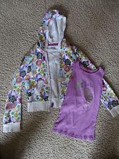 Disneyland Tinkerbell L Purple Tank Top & Matching Jacket