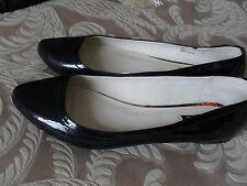 patent leather next ballet pumps flat comfortable wedding dance uk 9 trans 42