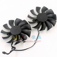 FOR evga GTX1050TI/1070/1080 graphics card dual fan PLA09215B12HH 0.55A 4 pin