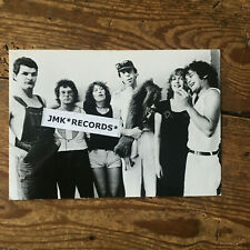 GRUPPO SPORTIVO - DUTCH POP - ORIGINAL 1978 B/W PROMO PHOTOCARD POSTKARTE FOTO