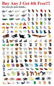 ☀️NEW Lego PICK YOUR ANIMAL Lot Friends Pets Farm Ranch Outdoor City Parts bulk
