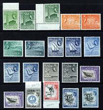 ADEN Queen Elizabeth II 1953-63 Pictorial Part Set SG 48 to SG 68a MINT