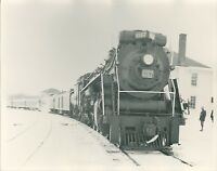 1962 Canadian National Locomotive Photo 6167 4-8-4 Allandale Station Ontario