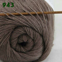 Sale 1 Skein x50gr LACE Soft Crochet Acrylic Wool Cashmere hand knitting Yarn 43