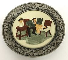 Sabastian Miniatures There Was A Time Collector Plate The Doctor Baston 1980