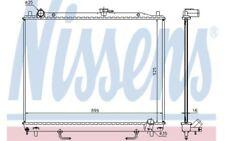 NISSENS Radiador, refrigeración del motor BMW X6 MITSUBISHI MONTERO 68181A