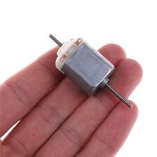 2pcs 130 Double Output Shaft DC Motor 1.5V-12V 5400rpm DIY Model Making