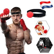 Balle de Combat avec Bande de Tête pour Entrainement Boxe Réflexe Exercice FR