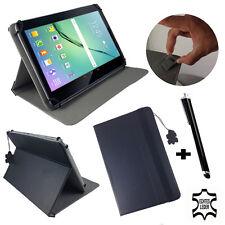 Echt Leder Tablet Hülle Samsung Galaxy Tab S2 8 LTE - Leder Tasche 8 - 7 zoll