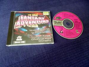 CD Erich Kunzel The Great Fantasy Adventure HEIMKINO TEST Surround Sound TELARC